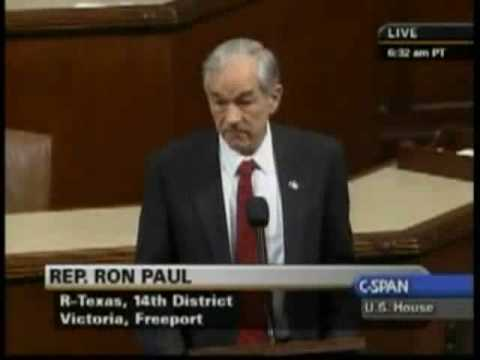 Ron Paul Opposes House Resolution Supporting Israel's Attack on Gaza