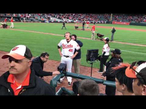 Baltimore orioles post game interview