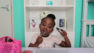 THIS 5 YEAR OLD IS BETTER THAN SOME MUA- (HILARIOUS)