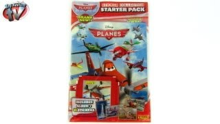 Disney Planes Sticker Album Starter Pack Toy Review, Panini