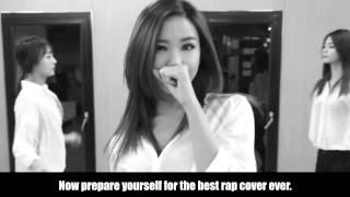 EXID - 하니 UP & DOWN Legendary Fancam, Hani's Gratitude, and Epic Rap Cover [HD]