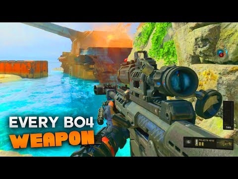 Every Weapon in Black Ops 4 (All COD BO4 Weapons Multiplayer Gameplay)