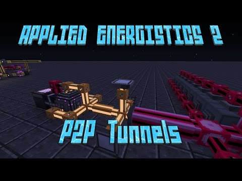 Applied Energistics 2 P2P Tunnels