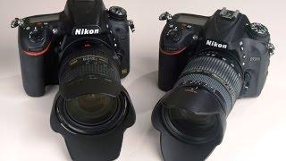Nikon D7200 vs D750 - Image Sharpness Competition Part 1