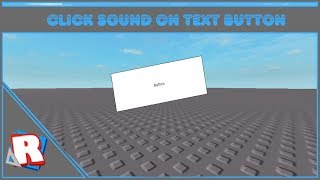 ROBLOX: How to Add Sound to a TextButton
