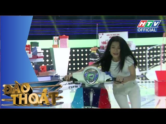 HTV ĐÀO THOÁT | Hữu Tín X-pro và hotgirl Trà Ngọc | DT #11 FULL | 19/6/2018