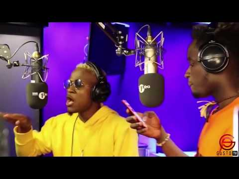 [Video] Mr. Eazi x Dotman's #XOFactor Freestyle On BBC 1Xtra