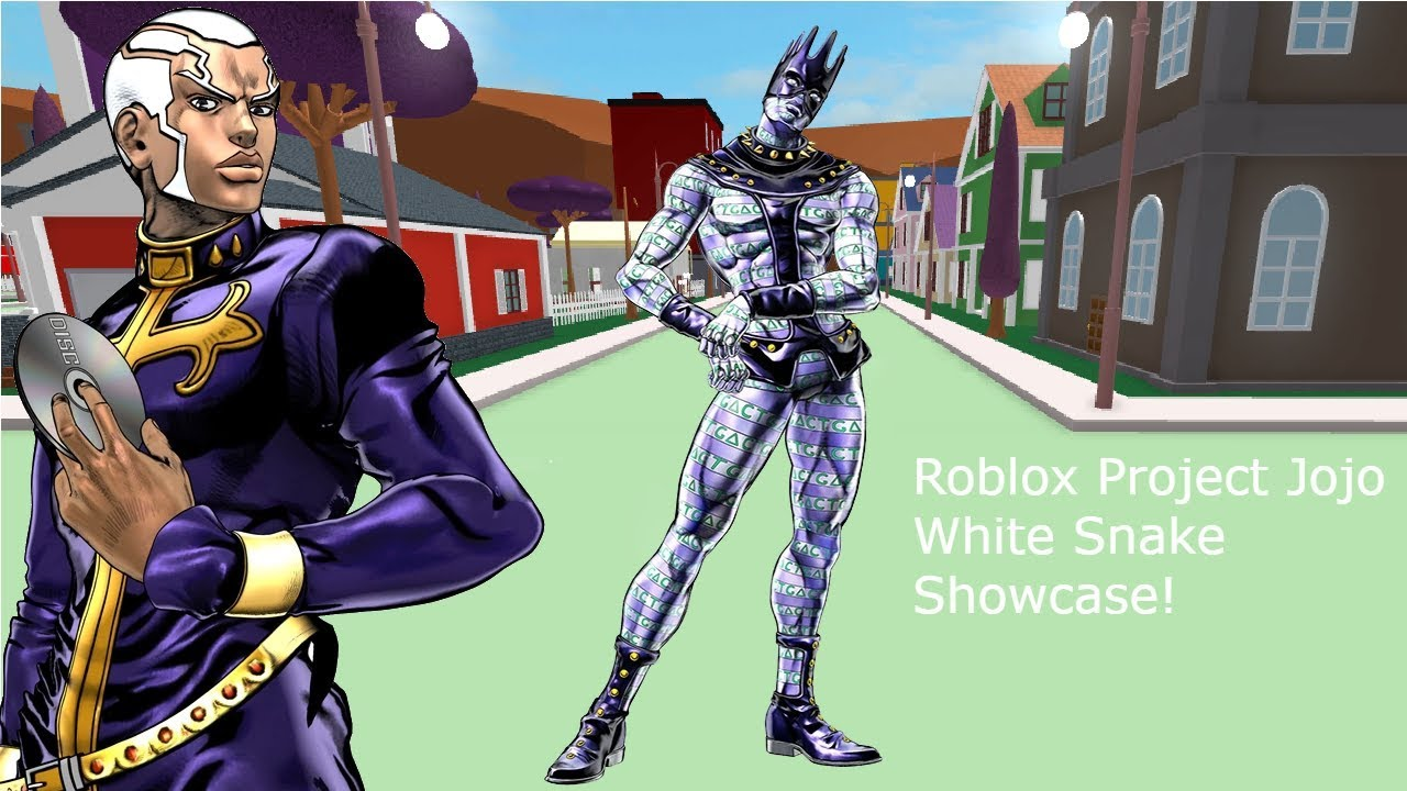 Roblox Project Jojo White Snake Showcase!