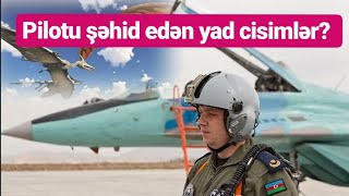 """TƏCİLİ: """"Təyyarəni vuran yad cisimlər olub"""" - Müdafiə Nazirliyi"""