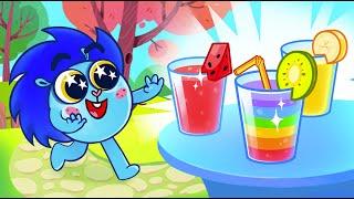 Rainbow Milkshake Song 🍹🧉😋 | Baby Zoo 😻🐨🐰🦁 Nursery Rhymes And Kids Songs  😻🐨🐰🦁