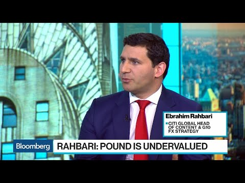 Brexit 'Absolutely Defining Issue' for Sterling, Citi's Rahbari Says