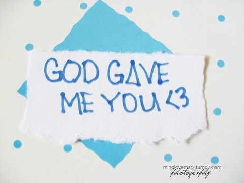 Blake Shelton- God Gave me you Lyric Video