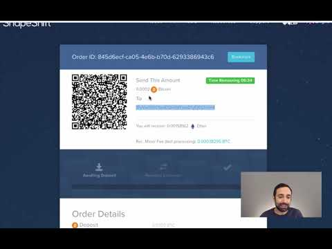 How to use Shapeshift to exchange bitcoin?