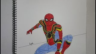 Draw It! Spider Man From Spider Man Homecoming Iron Spider Suit