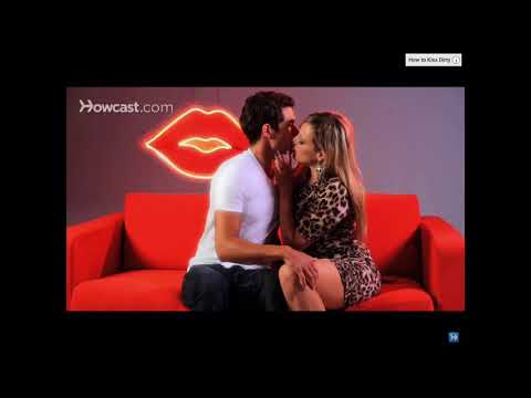 Howcast Kissing Michael and Shallon