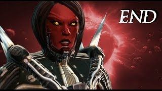 SWTOR Female Pureblood Sith Warrior Storyline Ending (Darkside)