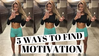 HOW TO GET MOTIVATED When You Don't Want To Workout