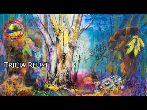 Fine art Tips with a Free Mixed Media Art Tutorial with Tricia Reust on Colour In Your Life
