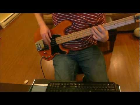 WWE/WWF Theme Song - D-Generation X - Are you ready (Bass Cover)