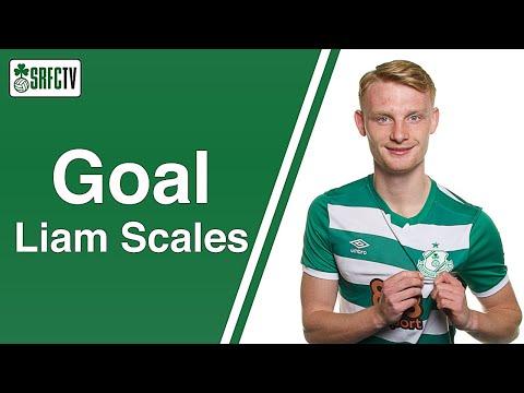 Liam Scales v Dundalk   2 July 2021
