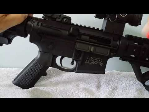 The functions of the Smith & Wesson M&P 15 sport ll