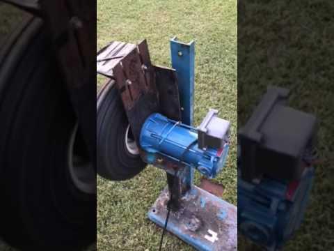 Baseball/softball pitching machine part 2 DIY how to