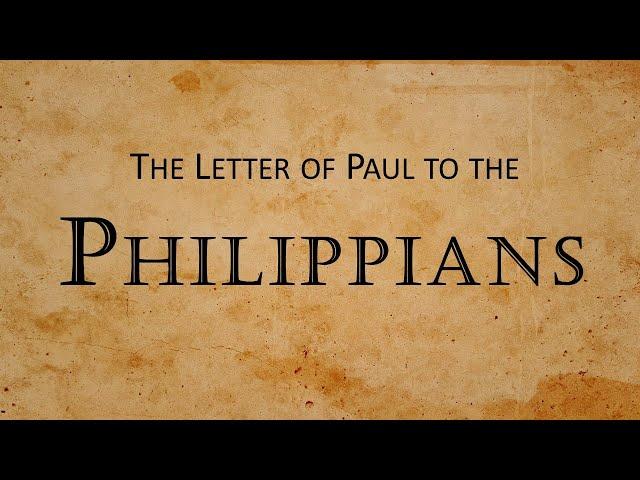 Sunday 10-24-2021: Philippians - The start of the church in Philippi