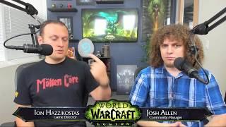 Live Developer Q&A with Ion Hazzikostas- 8/3/2017
