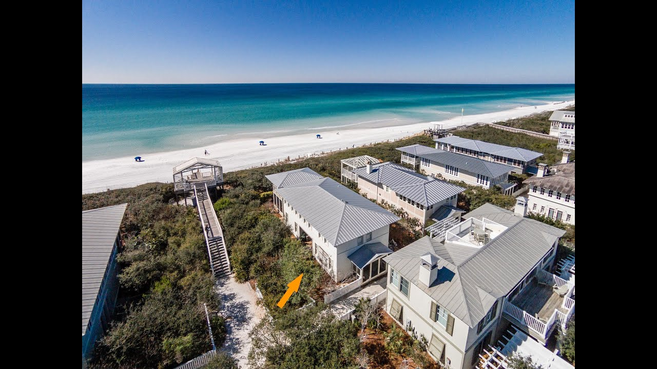 Seaside florida 3br gulf front vacaiton rental home 2036 for Seaside fl