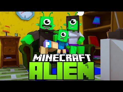 DIE FREUNDLICHE ALIEN FAMILIE! - Minecraft ALIEN #10 [Deutsch/HD]