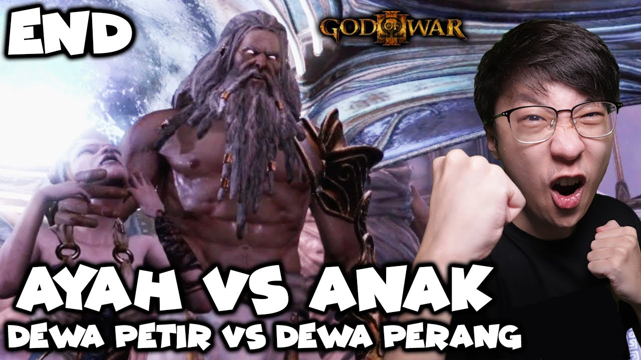 Bos Terakhir Zeus! Ayah VS Anak!  - God of War 3 Remastered Indonesia - Part 9 - END