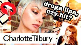 KOSMETYKI CHARLOTTE TILBURY - drogie BUBLE?! pierwsze wrażenia + RECENZJA // The Pink Rook