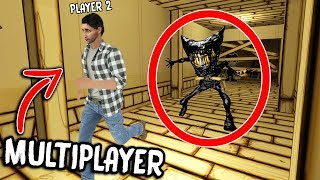 Bendy and the Ink Machine MULTIPLAYER... NEW CHAPTER