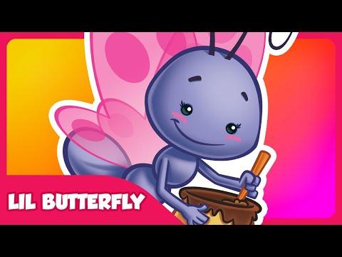 Lil Butterfly - Lottie Dottie Chicken - Kids songs and nursery rhymes in english