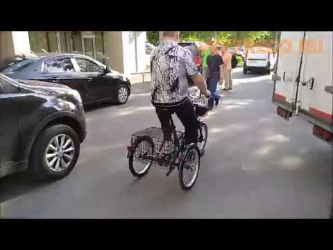 Трехколесный электрический велосипед Doonkan Trike Трехколесный велосипед для взрослых Voltreco.ru