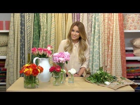 Crafty Creations: Floral Arrangements LaurenConradcom