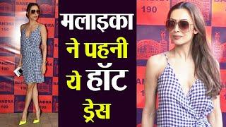 Malaika Arora looks stylish in blue sun dress at Lifestyle and Fashion pop up exhibit | FilmiBeat