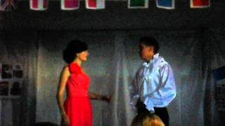 Сценка на англ. мові *Ромео і Джульєтта* Лановецька філія ПТУ №25 м. Збараж