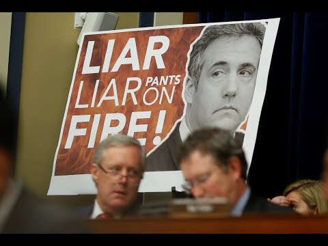 Committee GOP say 'pathological' Cohen has no credibility