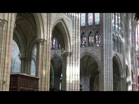 Saint Denis Basilica Cathedral - Paris, France - July 22, 2013