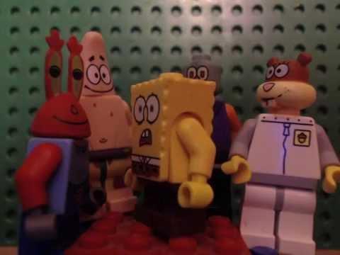 lego spogebob BEST DAY EVER!!!!