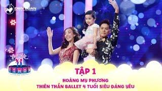 Biệt tài tí hon | tập 1: Thiên thần Ballet 4 tuổi siêu đáng yêu làm Trấn Thành, Cẩm Ly
