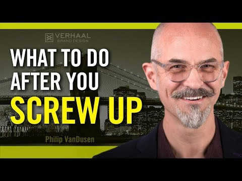 What To Do After You Screw Up Making Mistakes Leads To Success