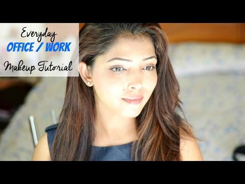 Easy Everyday Office Makeup For Soft Skin