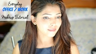 Easy Everyday Office / Work Makeup For Indian Skin | Hina Attar