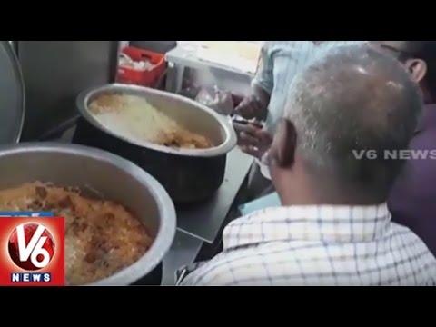GHMC, Food Inspectors Raids On Shah House Hotel | Rayadurgam | Hyderabad | V6 News