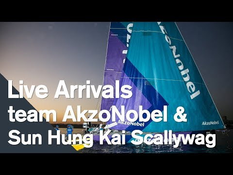 Team AkzoNobel and Scallywag complete Leg 1 of the 2017-18 edition