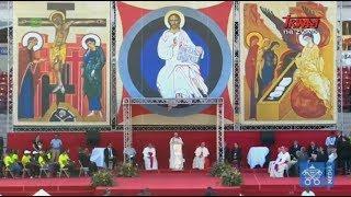 34. Światowe Dni Młodzieży w Panamie: Spotkanie Ojca Świętego z wolontariuszami ŚDM