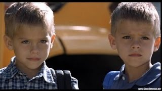 Cole and Dylan Sprouse in The Astronaut's Wife (movie)