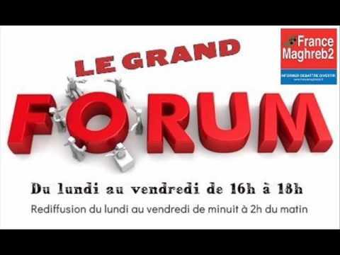 France Maghreb 2 - Le Grand Forum le 30/06/17 : Tarek Mami et Jean-Marc Zebelus